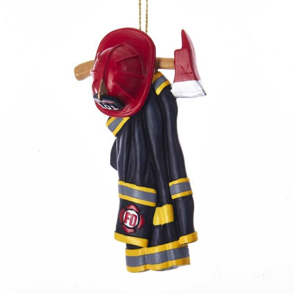 Christmas Ornament - Firefighter Uniform - 4.25in