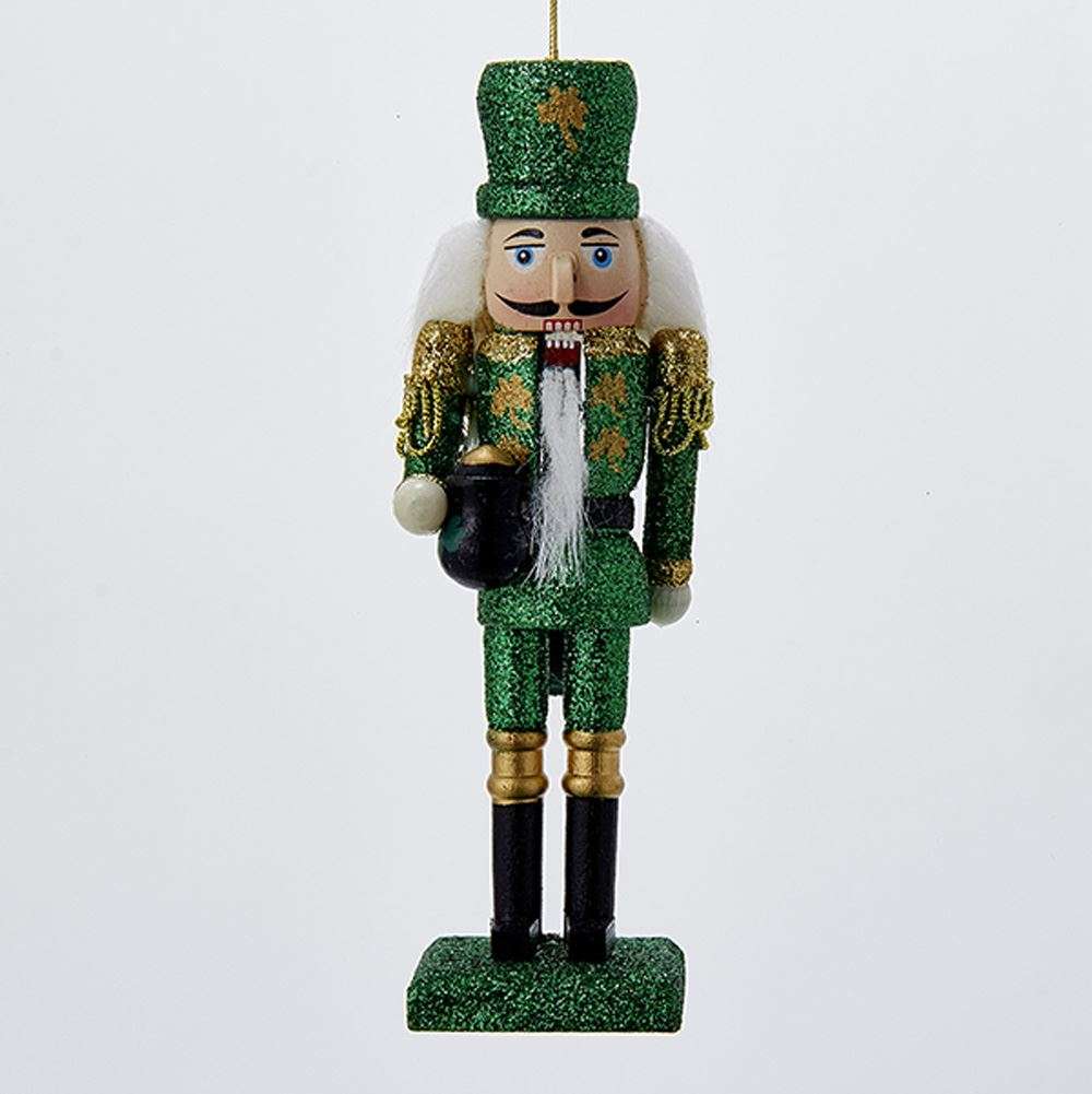 Christmas Ornament - Irish Nutcracker - 6in