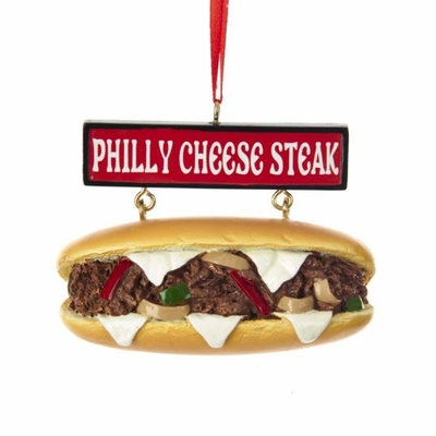 Christmas Ornament - Philly Cheese Steak Sandwich - 2.5in