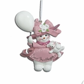 Christmas Ornament - Sweet Granddaughter - 4.25in