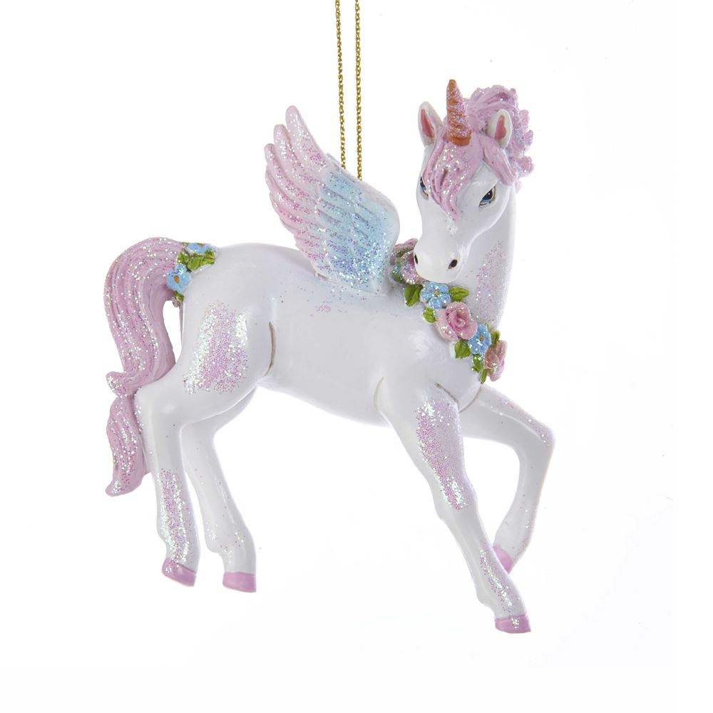 Christmas Ornament - Unicorn - 3.5in