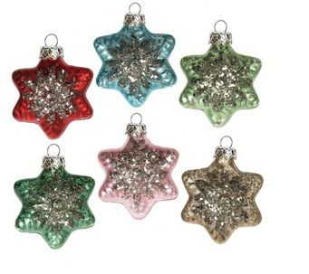 Glass Christmas Ornaments � Singles and Boxed Sets