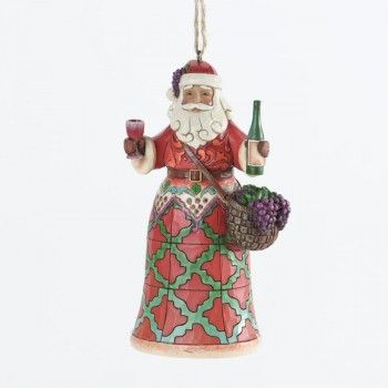 Christmas Santa Head Ornaments and Saint Nick Figures