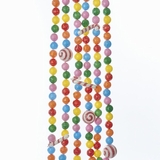 Christmas Tree Garland - Candy Cane & Candy Pieces - 9ft