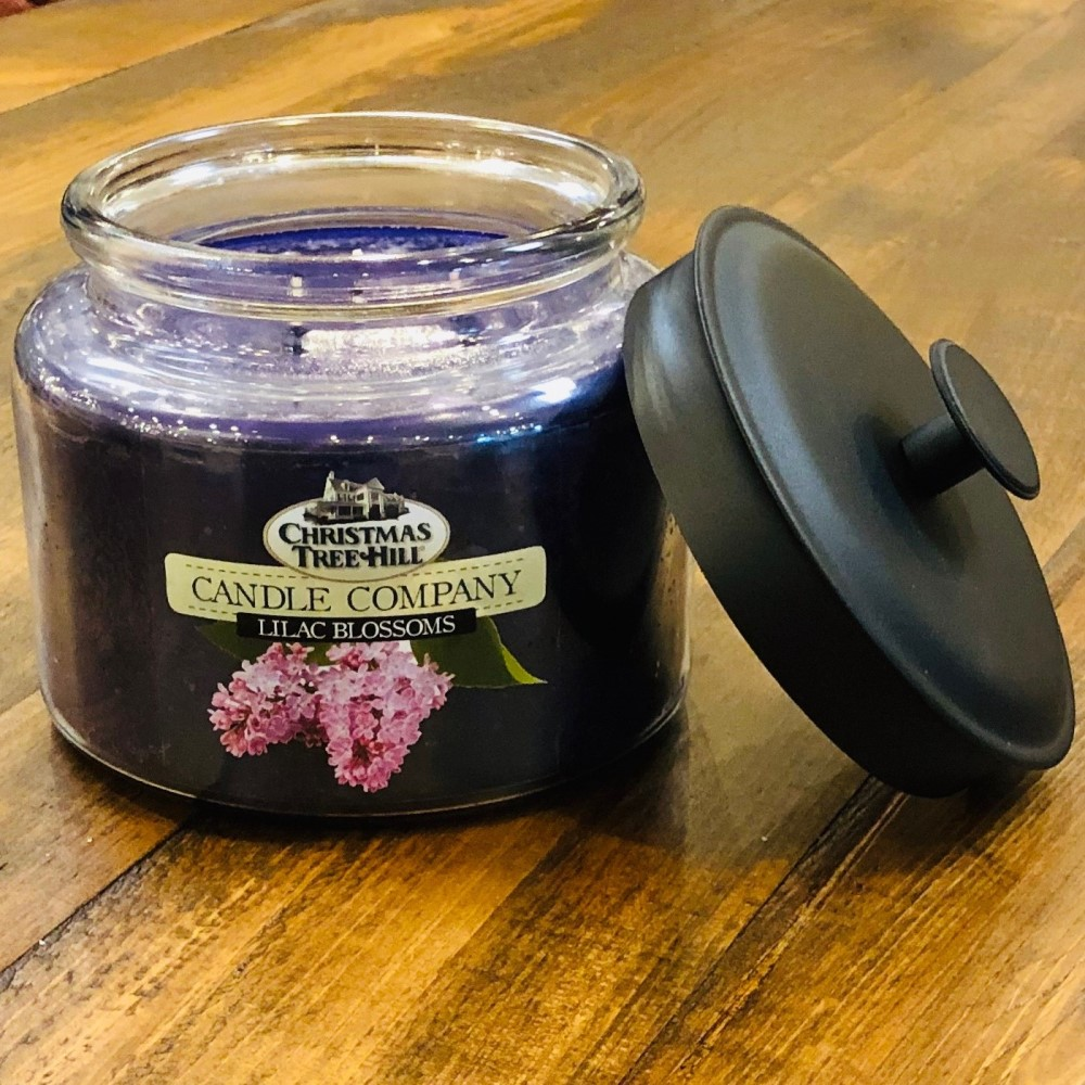 Christmas Tree Hill 3 Wick Candle - Lilac Blossoms - 64oz