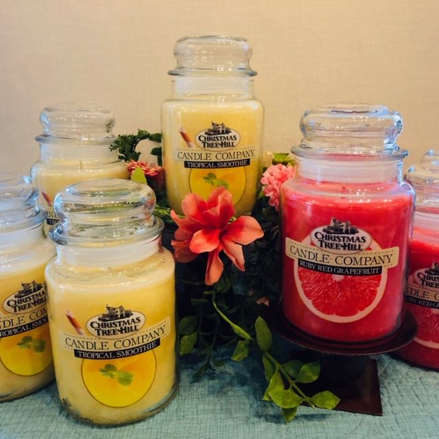 Candle Jars and Wax Melts � Christmas Tree Hill