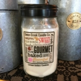 "Christmas Tree Hill Exclusive - Swan Creek 24oz Jar Candle - ""Lemon Icebox Cookies"""