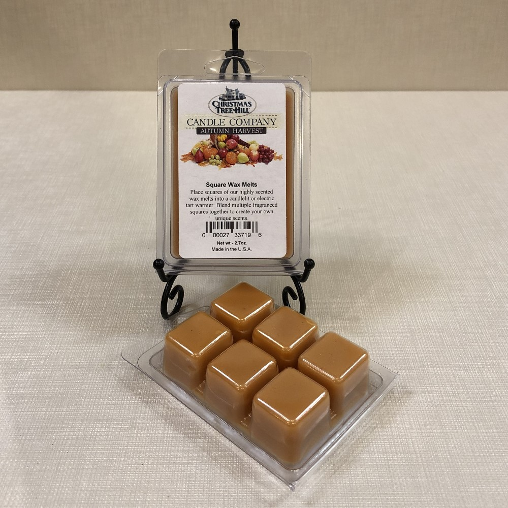 Christmas Tree Hill Wax Melts - Autumn Harvest