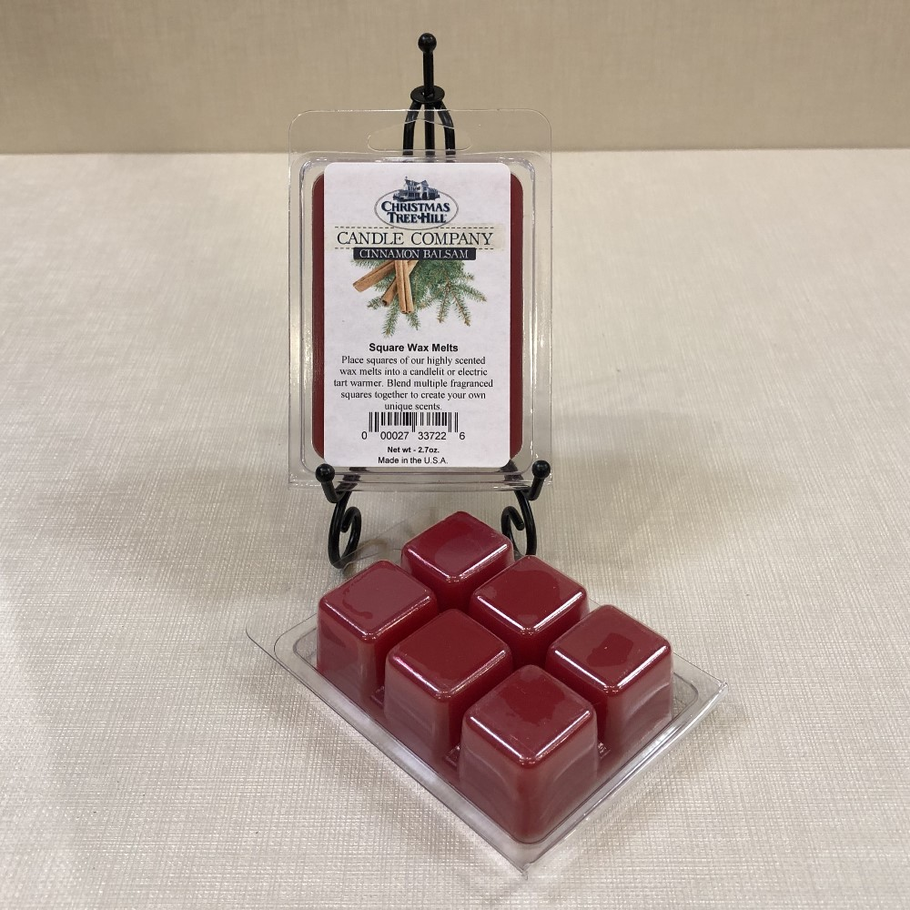 Christmas Tree Hill Wax Melts - Cinnamon Balsam