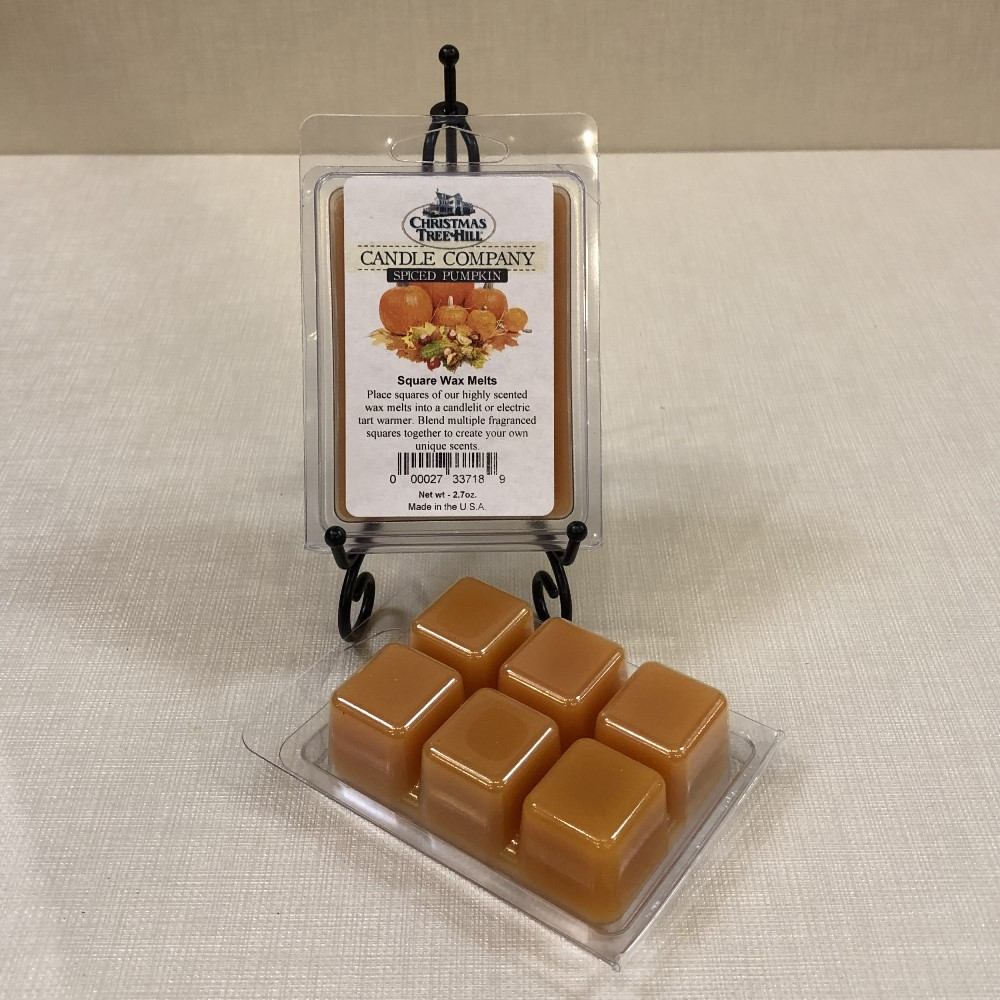 Christmas Tree Hill Wax Melts - Spiced Pumpkin