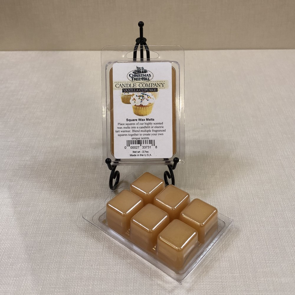 Christmas Tree Hill Wax Melts - Vanilla Cupcake