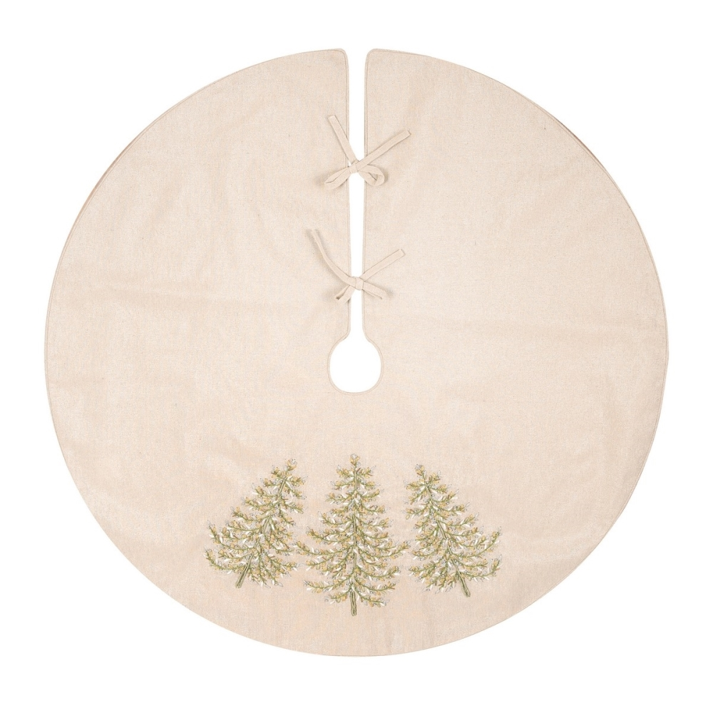 Christmas Tree Skirt - Winter Garden - 42in