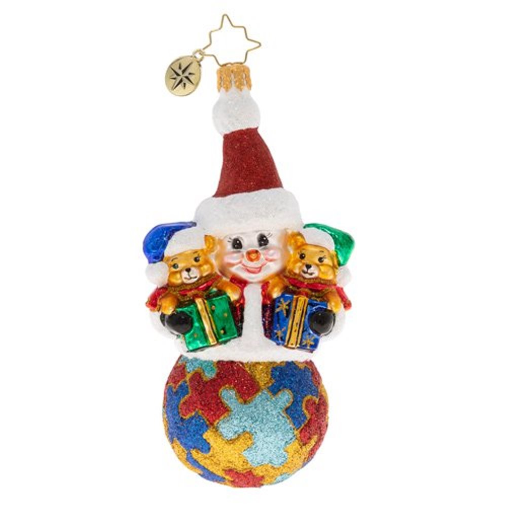 Christopher Radko Glass Ornament - A Perfect Puzzle 2020