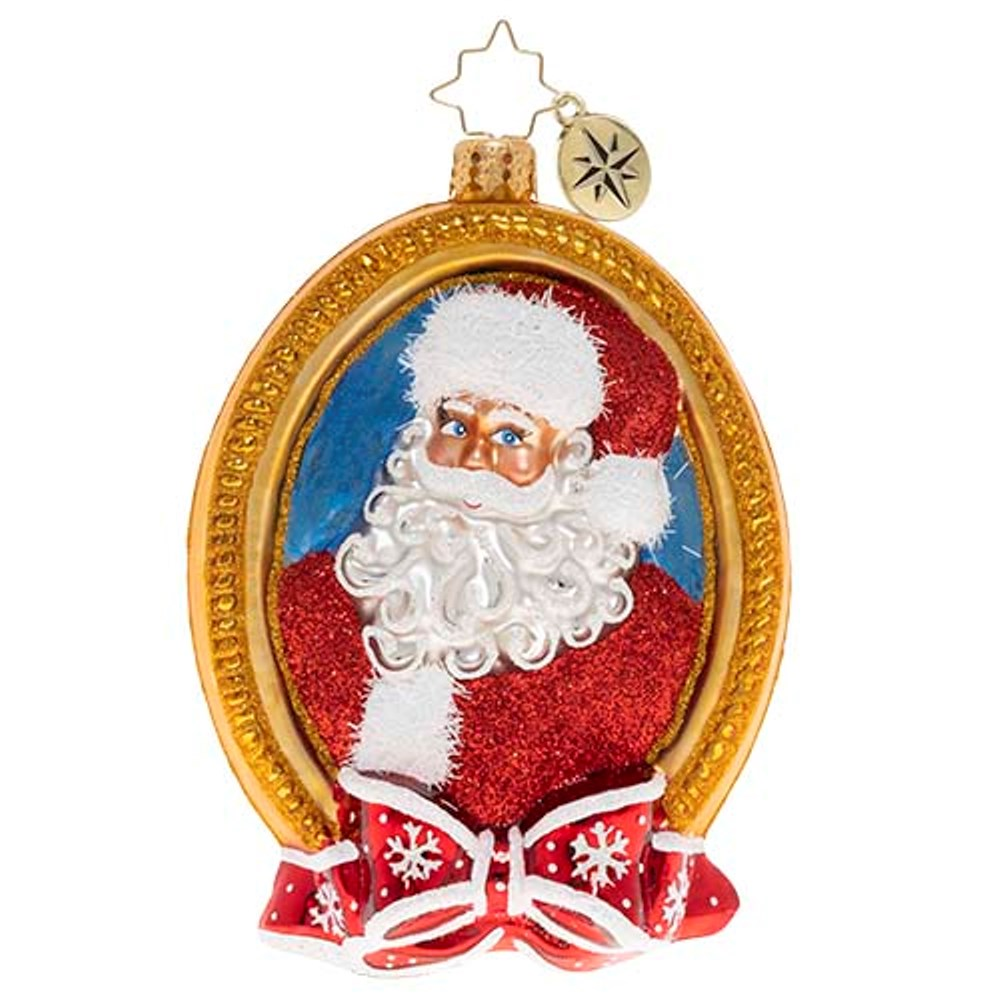 Christopher Radko Glass Ornament - A Prized Portrait 2020