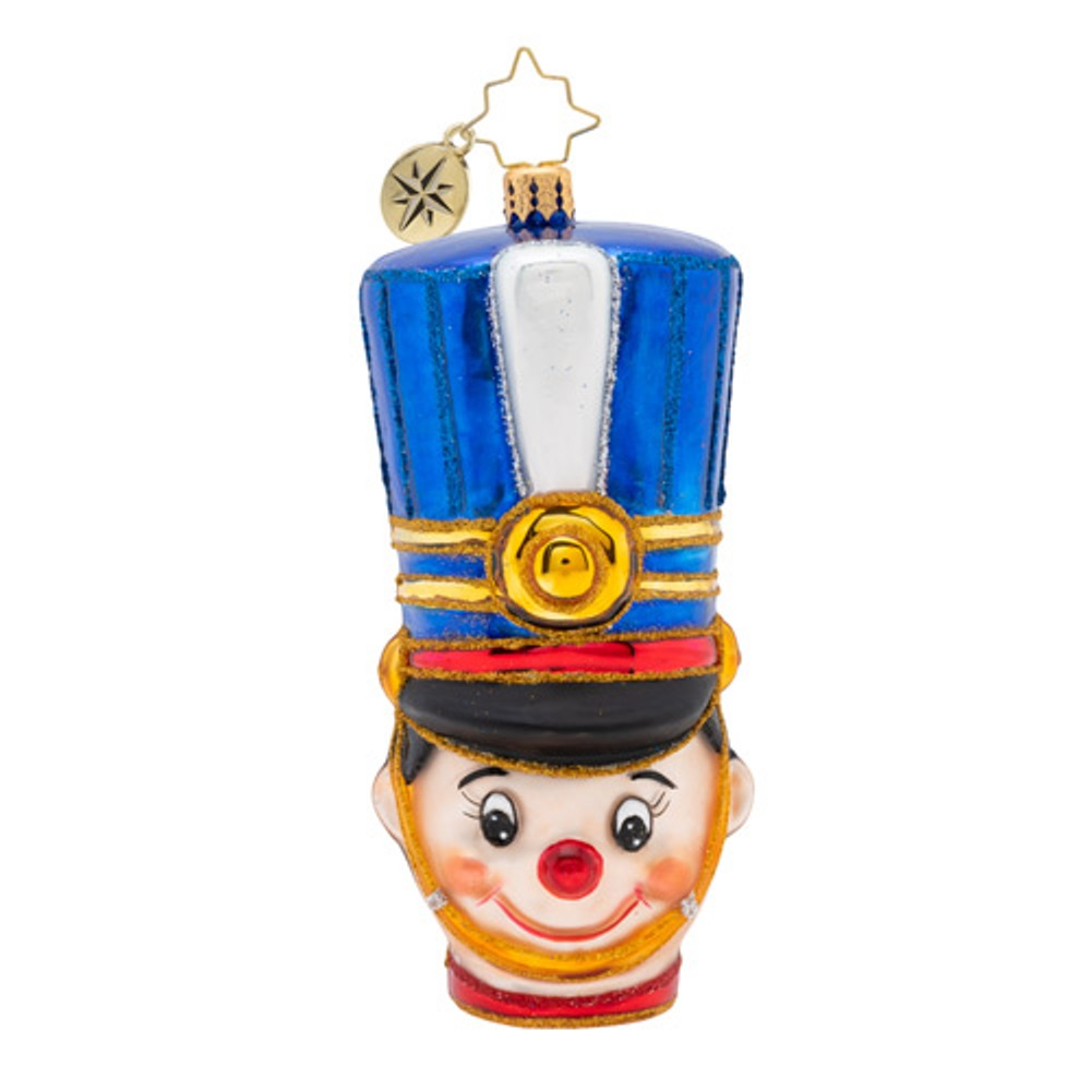 Christopher Radko Glass Ornament - Attention Toy Soldier 2019