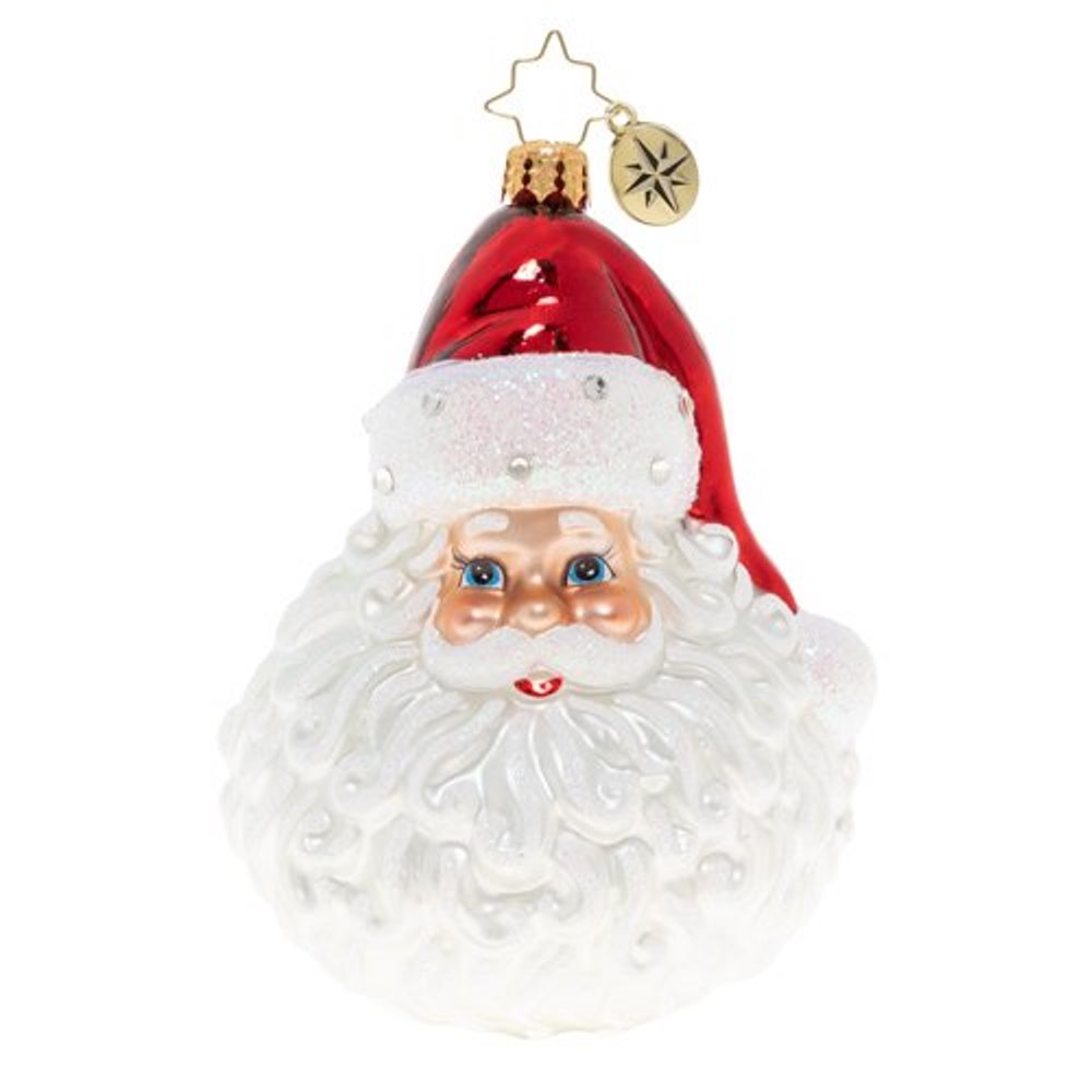 Christopher Radko Glass Ornament - Classic St. Nick 2020