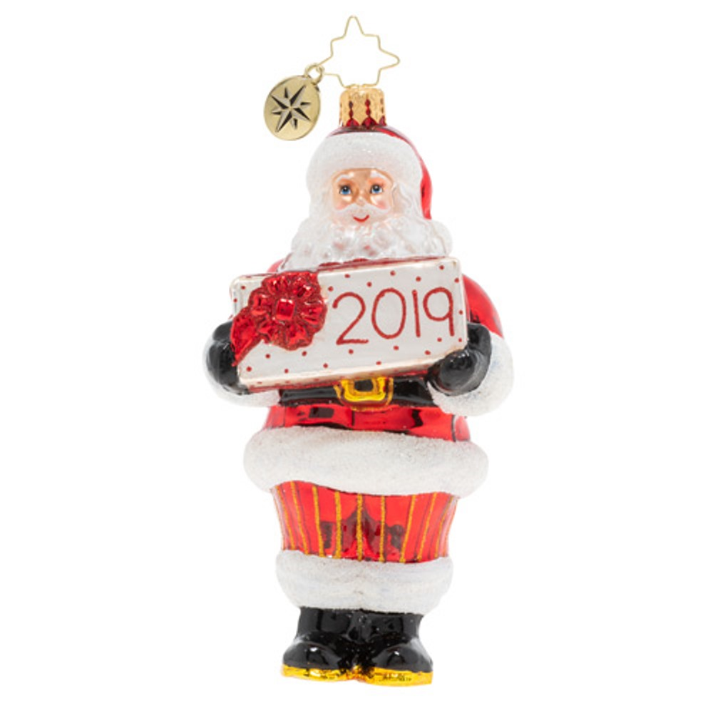 Christopher Radko Glass Ornament - Dated for Delivery 2019