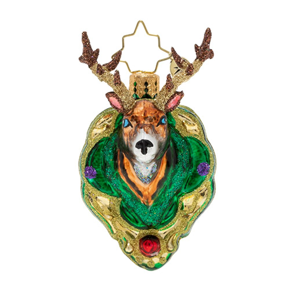 Christopher Radko Glass Ornament - Gem - A Buck For Christmas 2020