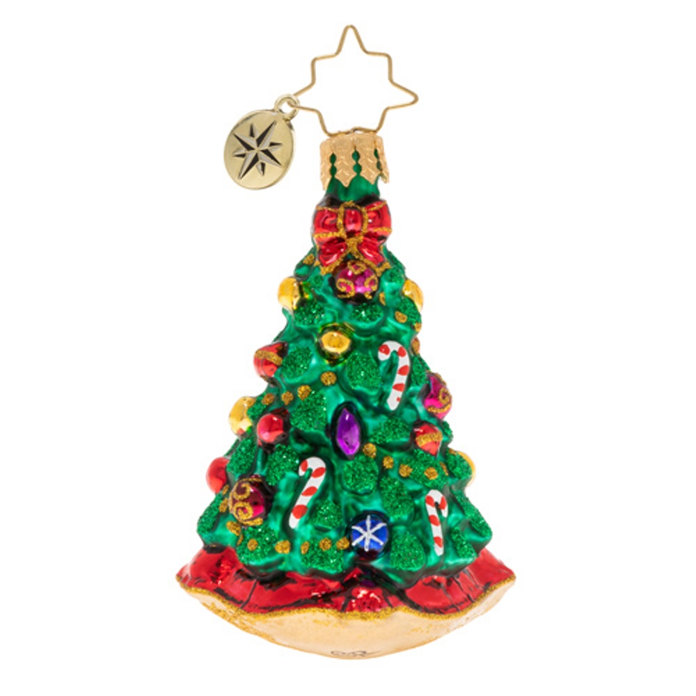 Christopher Radko Glass Ornament - Gem - Christmas Traditions 2020