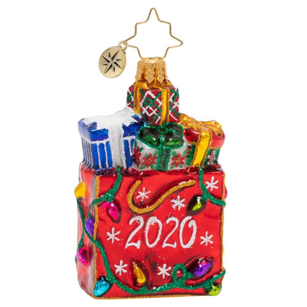 Christopher Radko Glass Ornament - Gem - Goodie Bag 2020