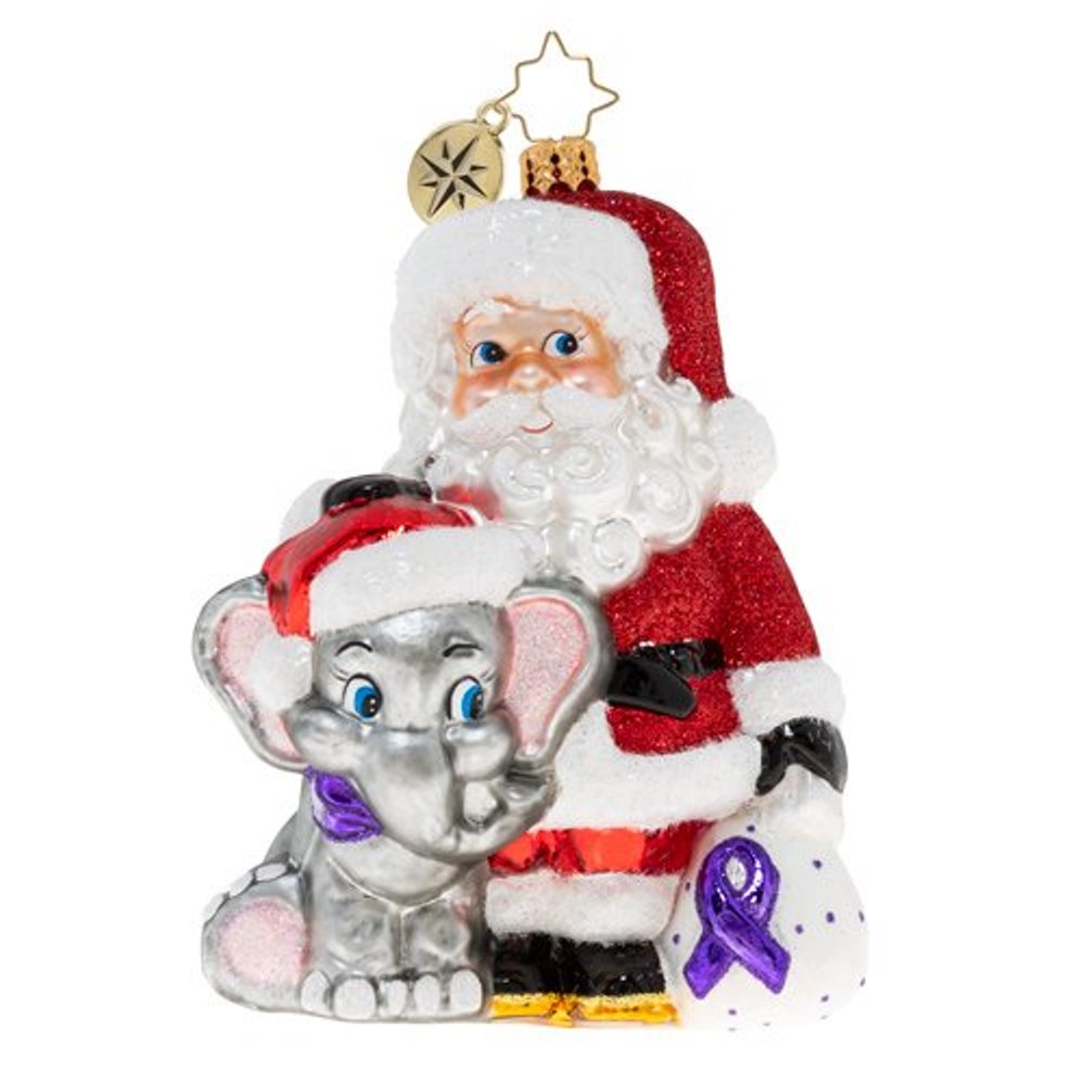 Christopher Radko Glass Ornament - Merry Memories 2020