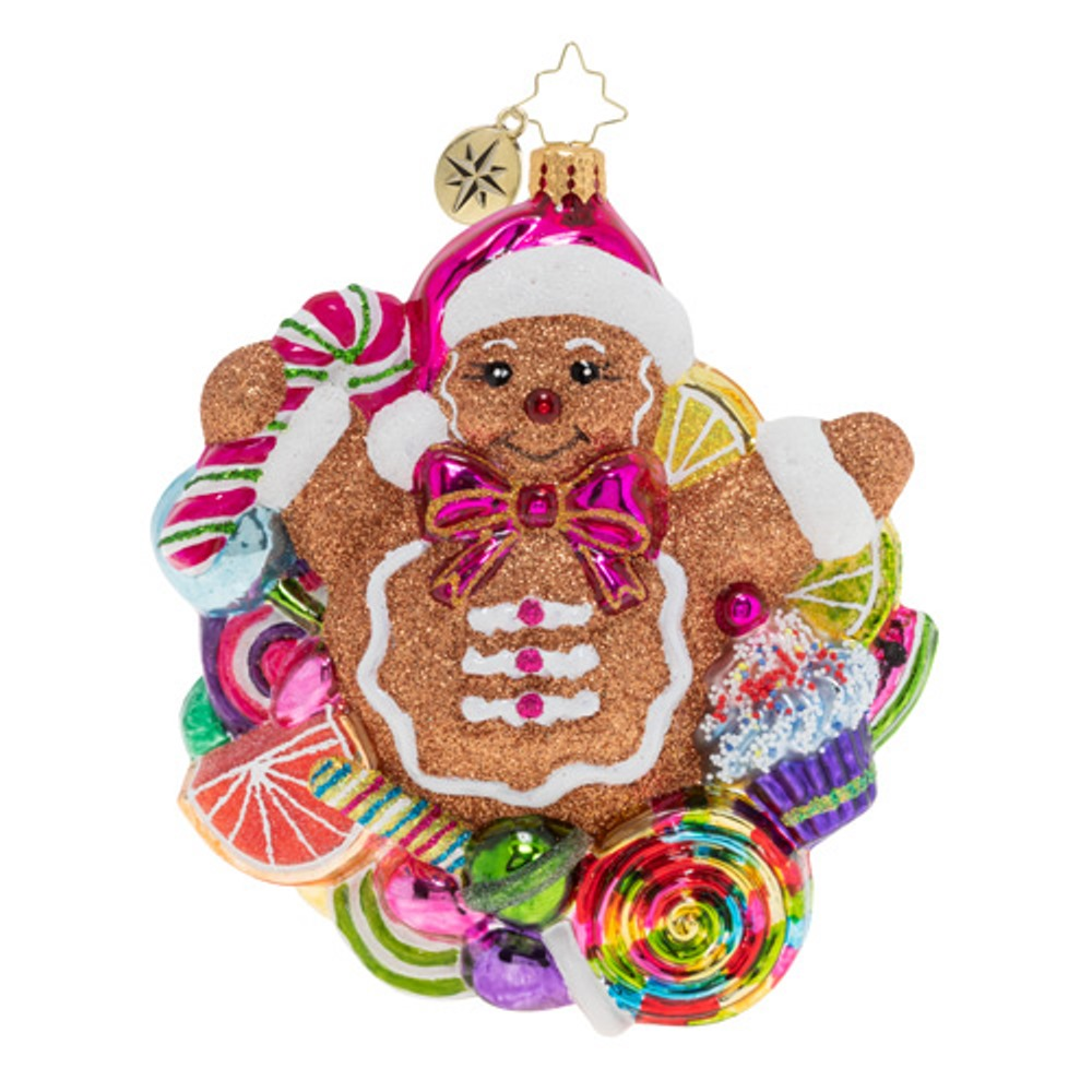 Christopher Radko Glass Ornament - Popping Out Surprise 2019