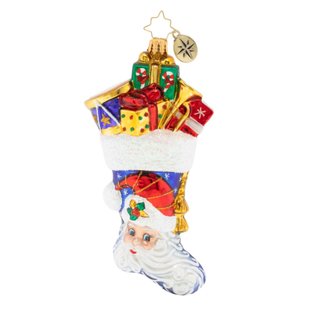 Christopher Radko Glass Ornament - Presents A'Plenty 2020