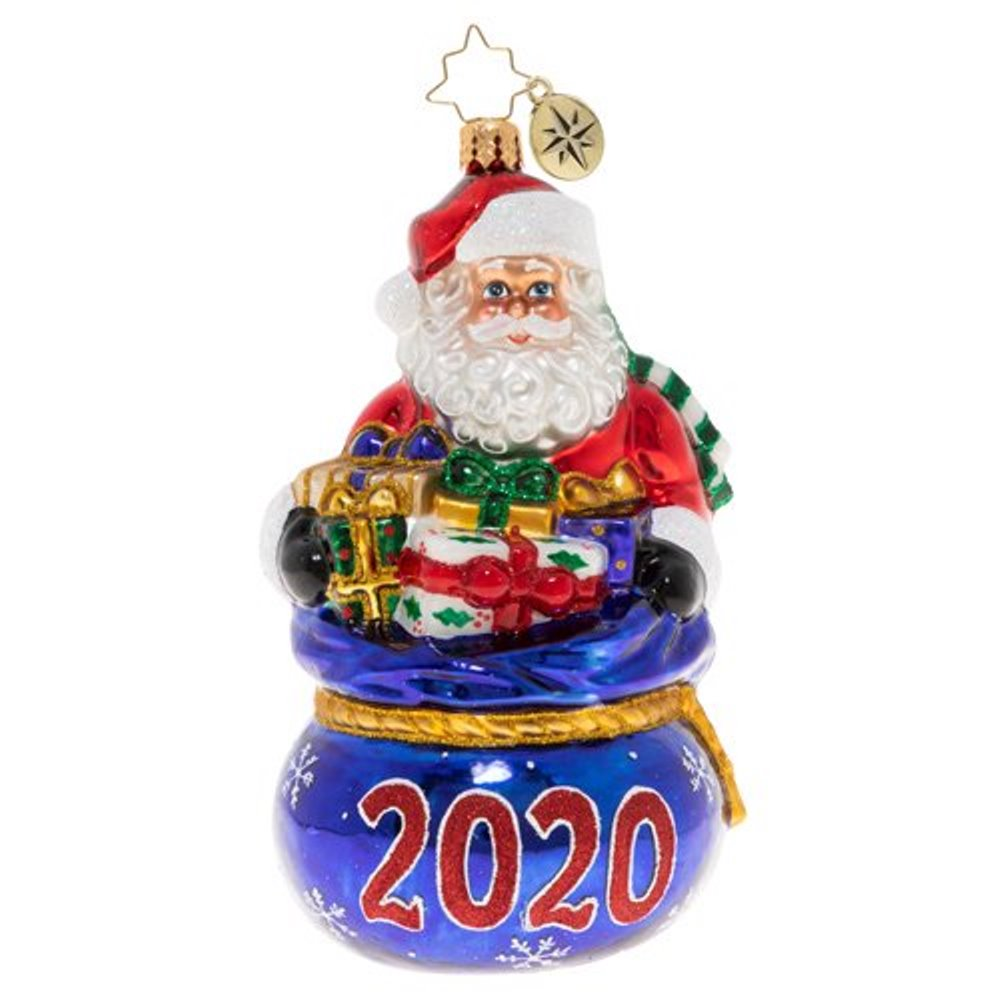 Christopher Radko Glass Ornament - Spilling Over With Surprises 2020