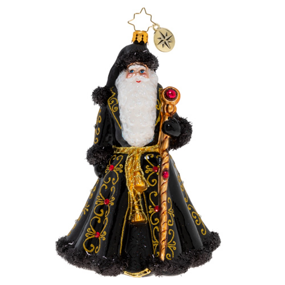 Christopher Radko Glass Ornament - St. Nick's Grand Getup 2020