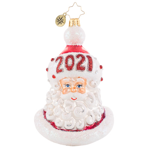 Christopher Radko Glass Ornament - Styling And Smiling In 2021 BT