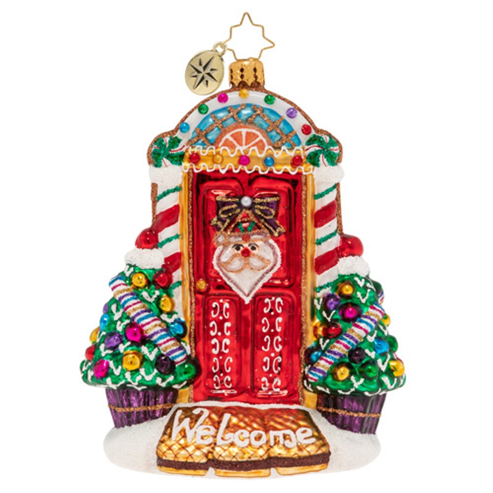 Christopher Radko Glass Ornament - Sweet Home Door Decor 2019