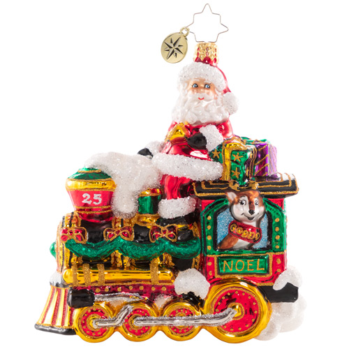 Christopher Radko Glass Ornament - The Fast Track To Christmas 2021