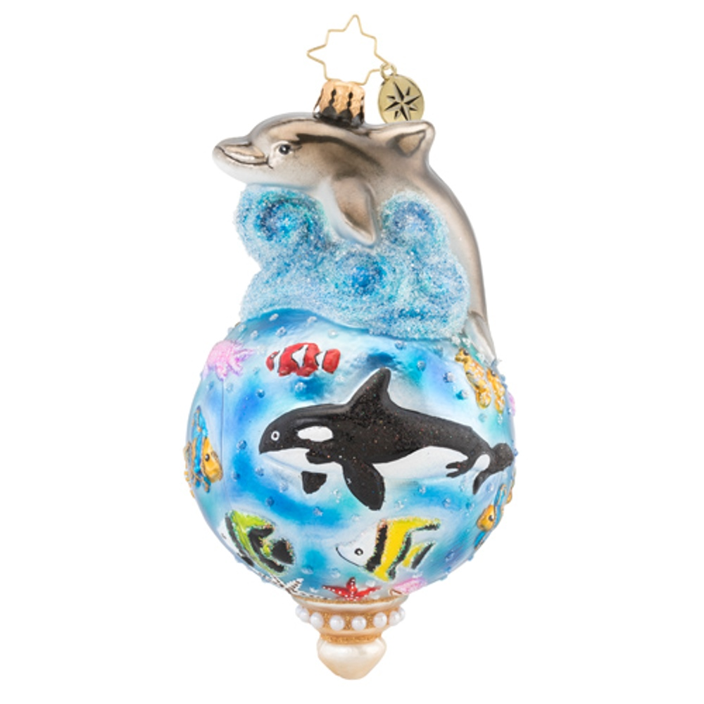 Christopher Radko Glass Ornament - Under the Sea 2019