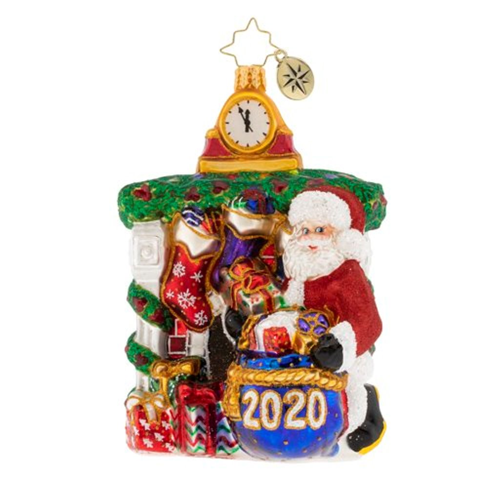 Christopher Radko Glass Ornament - Unpacking The Holidays 2020
