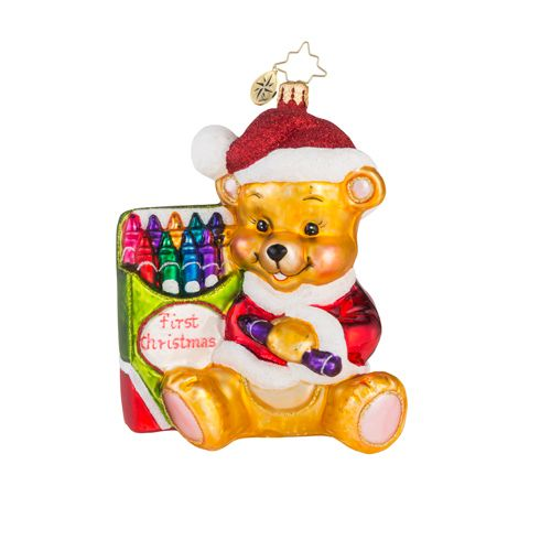 Christopher Radko Baby Christmas Ornaments � Glass
