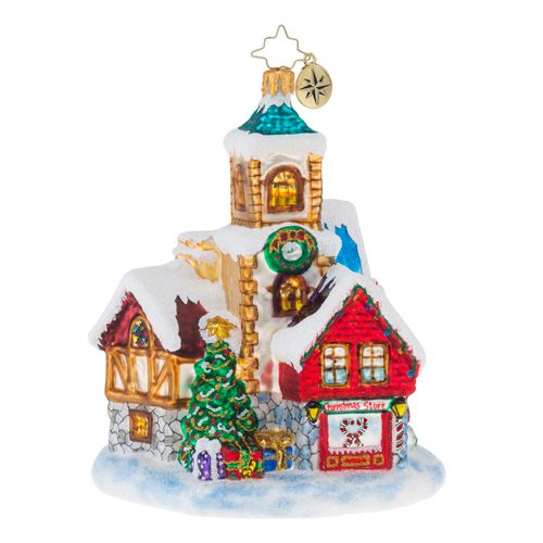 Christopher Radko Ornaments - Cottages and Houses