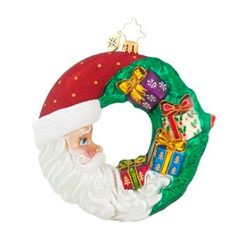 Christopher Radko Ornaments - Christmas Wreaths