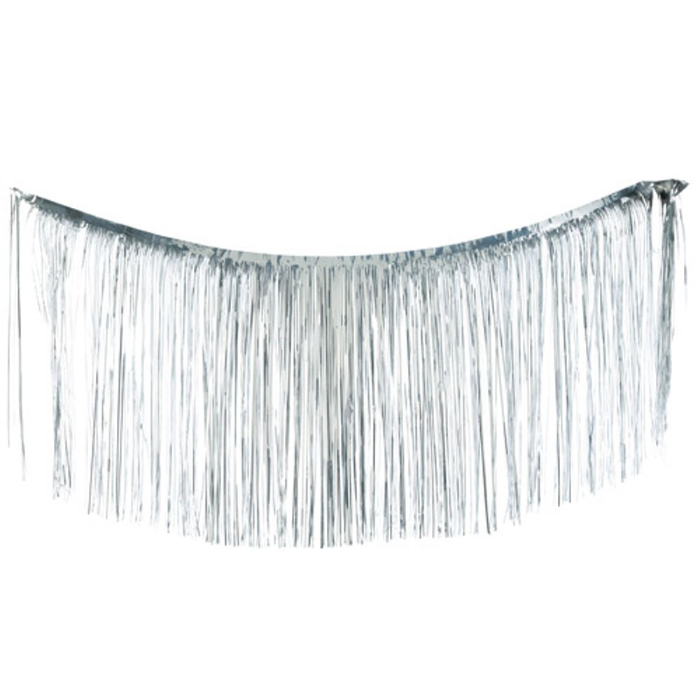 Christopher Radko Shiny Brite - Silver Tinsel - 18in