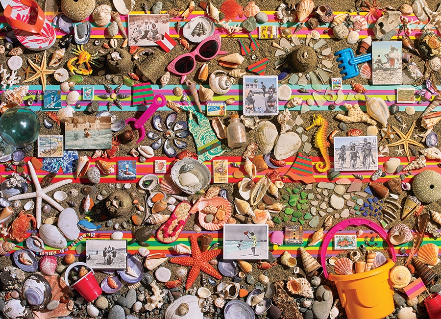 Cobble Hill Jigsaw Puzzle - 1000pcs - Beach Scene