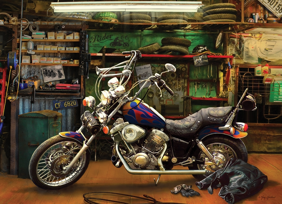 Cobble Hill Jigsaw Puzzle - 1000pcs - Chopper