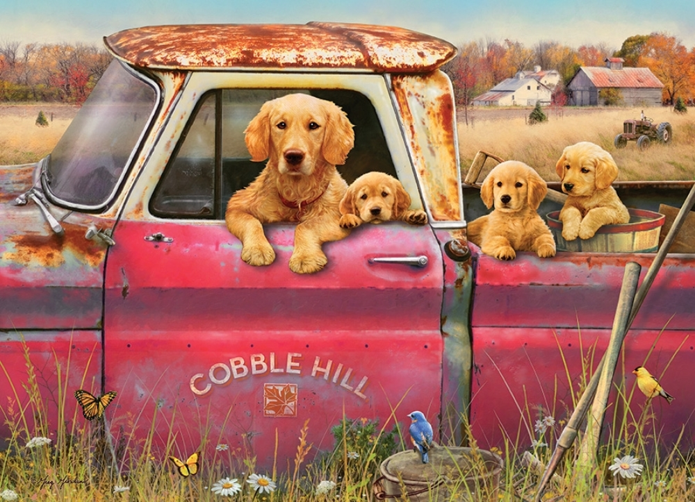 Cobble Hill Jigsaw Puzzle - 1000pcs - Cobble Hill Farm