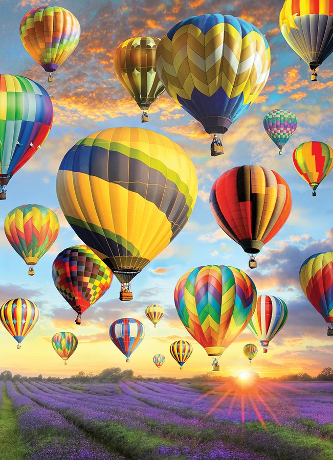 Cobble Hill Jigsaw Puzzle - 1000pcs - Hot Air Balloon