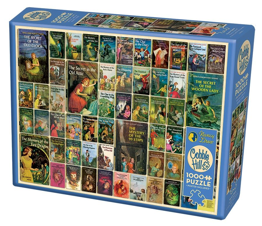 Cobble Hill Jigsaw Puzzle - 1000pcs - Nancy Drew®