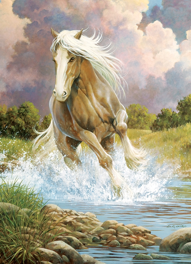 Cobble Hill Jigsaw Puzzle - 1000pcs - River Horse