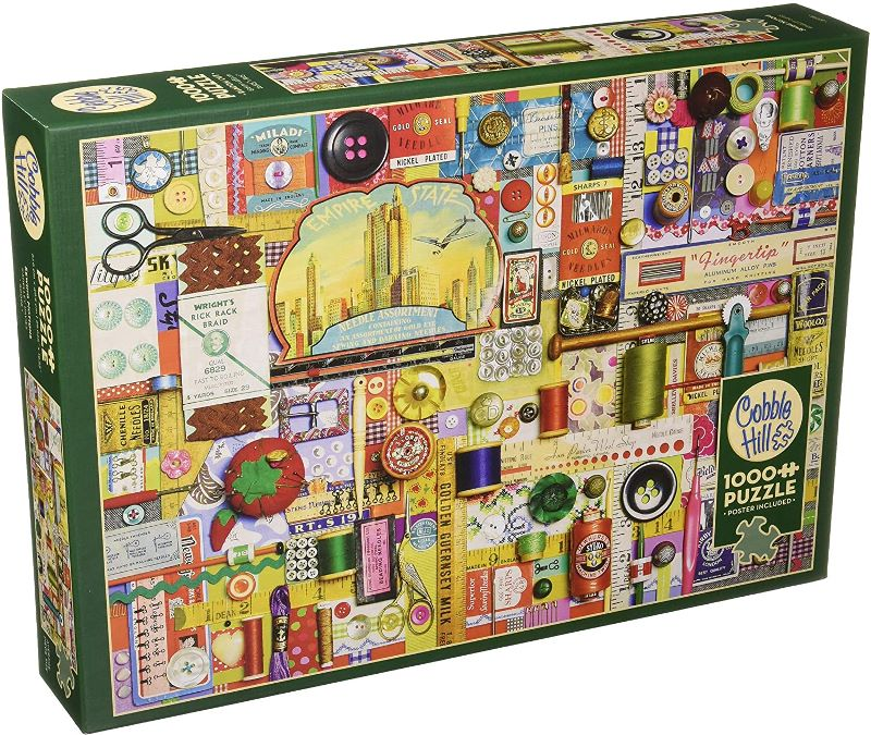 Cobble Hill Jigsaw Puzzle - 1000pcs - Sewing Notions