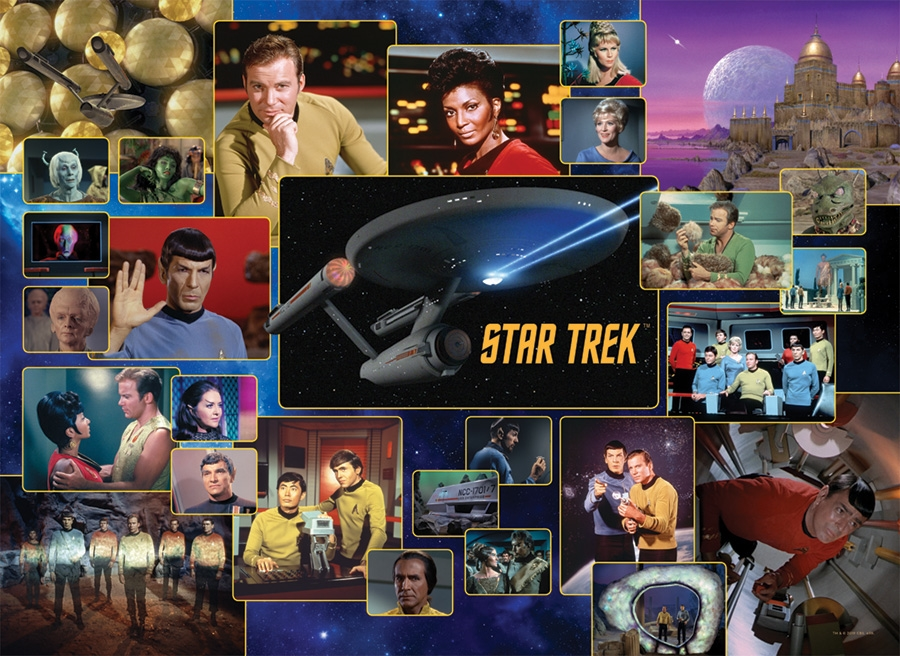 Cobble Hill Jigsaw Puzzle - 1000pcs - Star Trek Original