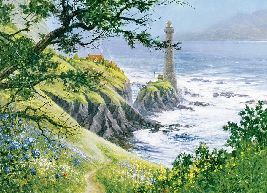 Cobble Hill Jigsaw Puzzle - 1000pcs - Summer Lighthouse