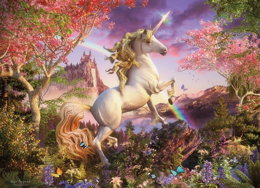 Cobble Hill Jigsaw Puzzle - 1000pcs - Unicorn