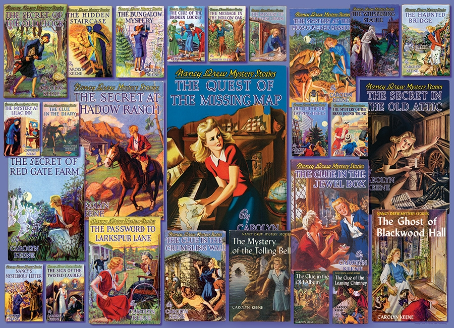 Cobble Hill Jigsaw Puzzle - 1000pcs - Vintage Nancy Drew®