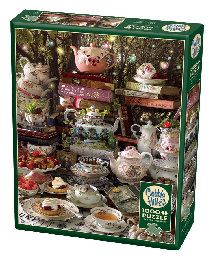 Cobble Hill Jigsaw Puzzle - 1000pcs - We're All Mad Here